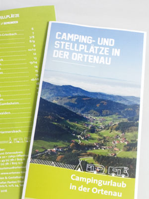 broschüre camping